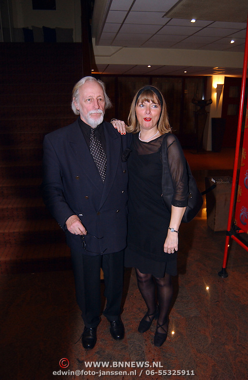 Harpengala 2003, Herman Pieter de Boer en vrouw Micky Ottenspoor