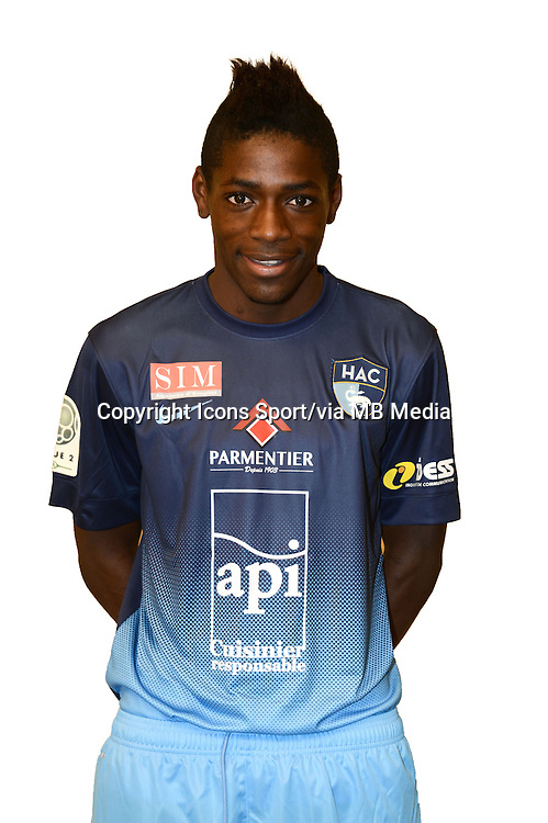 Harrison MANZALA - 04.10.2013 - Photo Officielle - Le Havre -<br /> Photo : Icon Sport