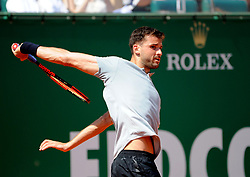 April 21, 2018 - Monaco - Tennis - Monaco - Grigor Dimitrov Bulgarie (Credit Image: © Panoramic via ZUMA Press)