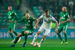 Tomislav Tomić of Olimpija vs Aleks Pihler of Maribor during Football match between NK Olimpija and NK Maribor in 23rd Round of Prva liga Telekom Slovenije 2018/19 on March 16, 2019, in SRC Stozice, Ljubljana, Slovenia. Photo by Vid Ponikvar / Sportida