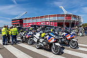 ROTTERDAM - 30-04-2017, AZ - Vitesse, finale KNVB beker, Stadion De Kuip, politie