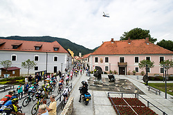 The cyclists at start during 3rd Stage of 25th Tour de Slovenie 2018 cycling race between Slovenske Konjice and Celje (175,7 km), on June 15, 2018 in  Slovenia. Photo by Matic Klansek Velej / Sportida