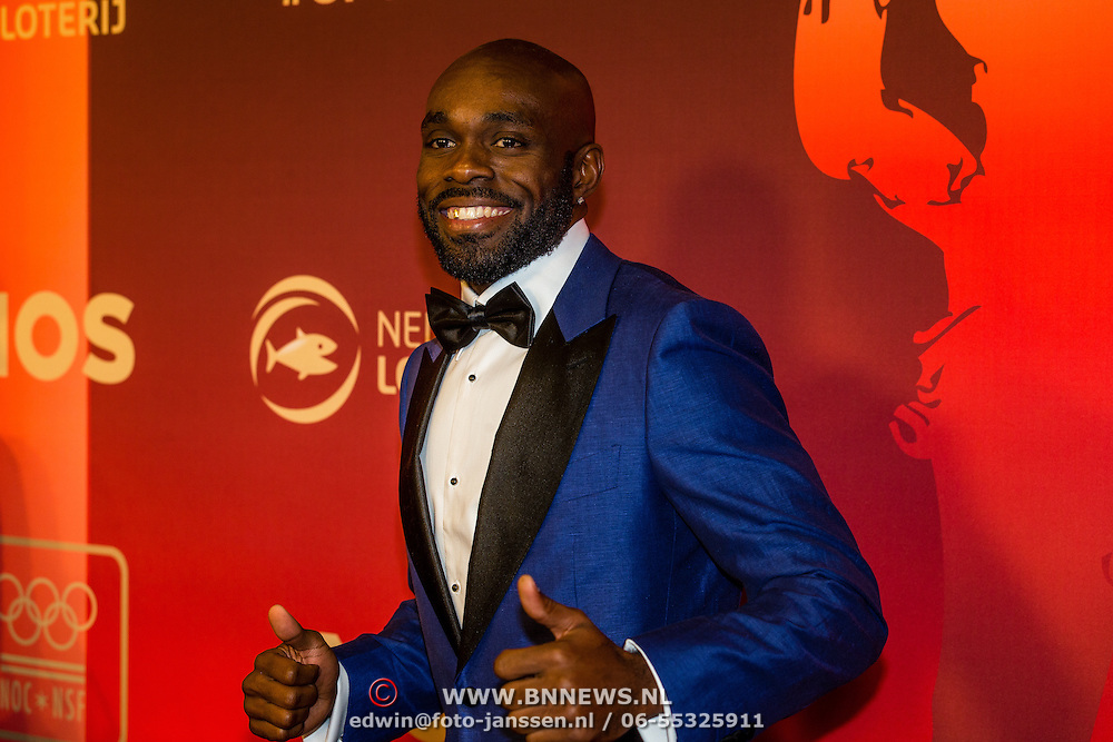 NLD/Amsterdam/20161221 - NOC*NSF Sportgala 2016, Churandy Martina