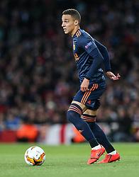 Rodrigo Moreno of Valencia on the ball - Mandatory by-line: Arron Gent/JMP - 02/05/2019 - FOOTBALL - Emirates Stadium - London, England - Arsenal v Valencia - UEFA Europa League Semi-Final 1st Leg