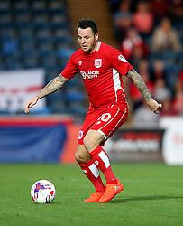 Lee Tomlin of Bristol City - Mandatory by-line: Robbie Stephenson/JMP - 09/08/2016 - FOOTBALL - Adams Park - High Wycombe, England - Wycombe Wanderers v Bristol City - EFL League Cup
