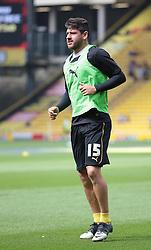 Watford's Javier Acuna  - Photo mandatory by-line: Nigel Pitts-Drake/JMP - Tel: Mobile: 07966 386802 25/08/2013 - SPORT - FOOTBALL -Vicarage Road Stadium - Watford -  Watford v Nottingham Forest - Sky Bet Championship