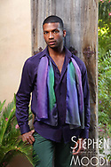 """Coming Out Purple Silk Scarf - Wearable Art Catalog, designed by artist Stephen Moody in Scottsdale, AZ from the artwork """"Art In Its Most Human Form""""TM.  Moody's art is available for purchase on Canvas, watercolor paper and silk wearable art."""