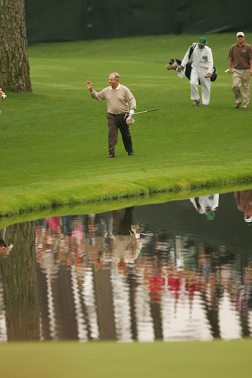 Jack Nicklaus..2005 Masters Tournament.2nd round.Saturday, April 9 2005.Augusta National GC.Augusta, GA..photograph by Darren Carroll.4-9-05