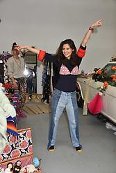 Jasmine Hemsley at the #SheInspiesMe Car Boot Sale in aid of Women for Women International held Brewer Street Car Park, Soho, London England. 6 May 2017.<br /> Photo by Dominic O'Neill/SilverHub 0203 174 1069 sales@silverhubmedia.com