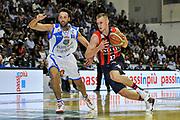 Nemanja Jaramaz<br /> Banco di Sardegna Dinamo Sassari - Angelico Biella<br /> Legabasket Serie A Beko 2012-2013<br /> Sassari, 30/09/2012<br /> Foto L.Canu / Ciamillo-Castoria