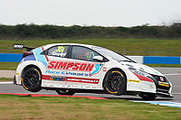 #30 Martin Depper GBR Eurotech Racing Honda Civic Type R during Media Day Test Session as part of the BTCC Media Day at Donington Park, Melbourne, Leicestershire, United Kingdom. March 22 2016. World Copyright Peter Taylor/PSP. Copy of publication required for printed pictures.  Every used picture is fee-liable.