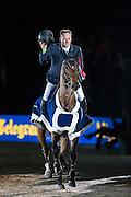 Robert Vos - Carat<br /> De Telegraaf Prijs 1.50m<br /> Jumping Amsterdam 2016<br /> © DigiShots