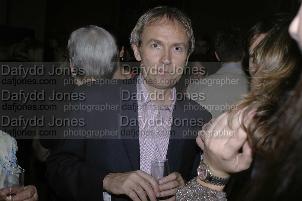 LUKE JOHNSON, Literary Review's Bad Sex In Fiction Prize.  In &amp; Out Club (The Naval &amp; Military Club), 4 St James's Square, London, SW1, 29 November 2006. <br />Ceremony honouring author who writes about sex in a 'redundant, perfunctory, unconvincing and embarrassing way'. ONE TIME USE ONLY - DO NOT ARCHIVE  &copy; Copyright Photograph by Dafydd Jones 248 CLAPHAM PARK RD. LONDON SW90PZ.  Tel 020 7733 0108 www.dafjones.com