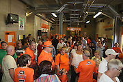 Busy concourse in the George Fox Stand - Dundee United open day at Tannadice<br /> <br />  - Pictures © David Young