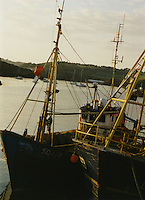 Dunmore East Harbour in Waterford Ireland