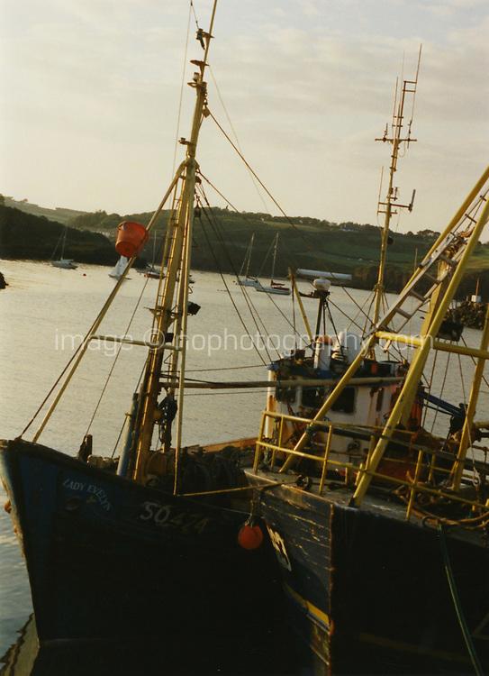 Dunmore East Harbour in Waterford Ireland