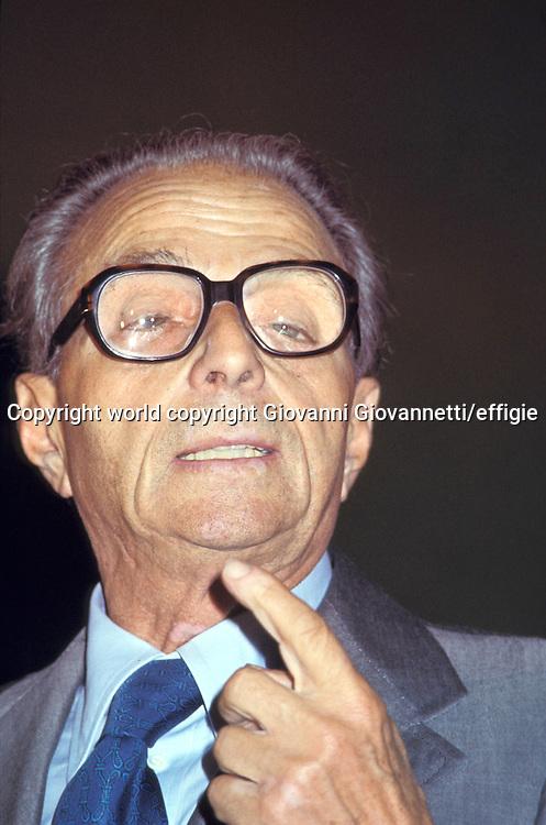 Ugo La Malfa<br />world copyright Giovanni Giovannetti/effigie