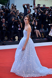 Raffey Cassidy attending the Vox Lux premiere during the 75th Venice Film Festival