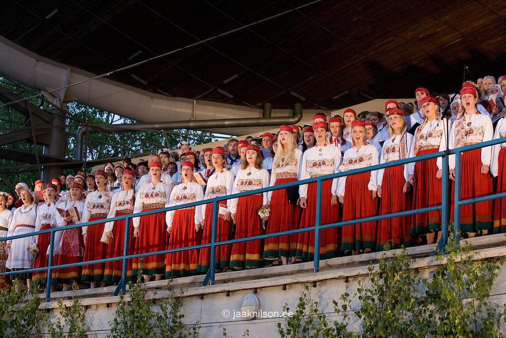 Tartu Song Festival 2009, Estonia, Europe