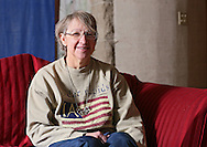 Cathy Faulkner at her house in Cedar Rapids on Wednesday, February 27 2013.