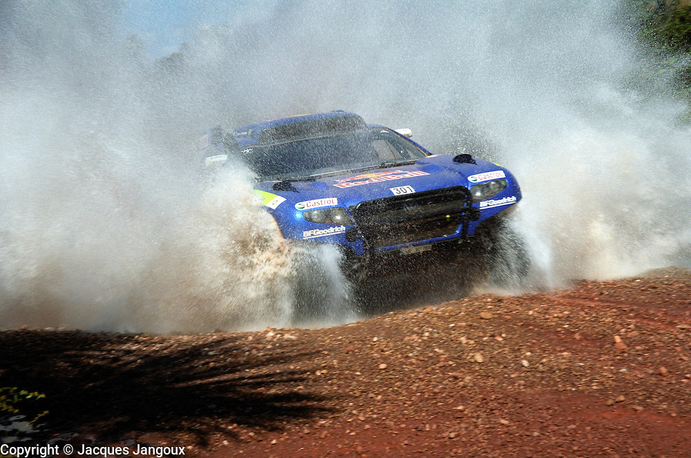Rally dos Sertoes 2009, Brazil, South America. Carlos Sainz (Spain)twice World Rally Championship (WRC) champion (1990, 1992) driving a Volkswagen Touareg.