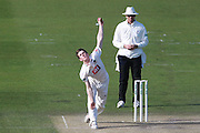 Sussex bowler George Garton during the Specsavers County Champ Div 2 match between Sussex County Cricket Club and Leicestershire County Cricket Club at the 1st Central County Ground, Hove, United Kingdom on 1 May 2016. Photo by Bennett Dean.