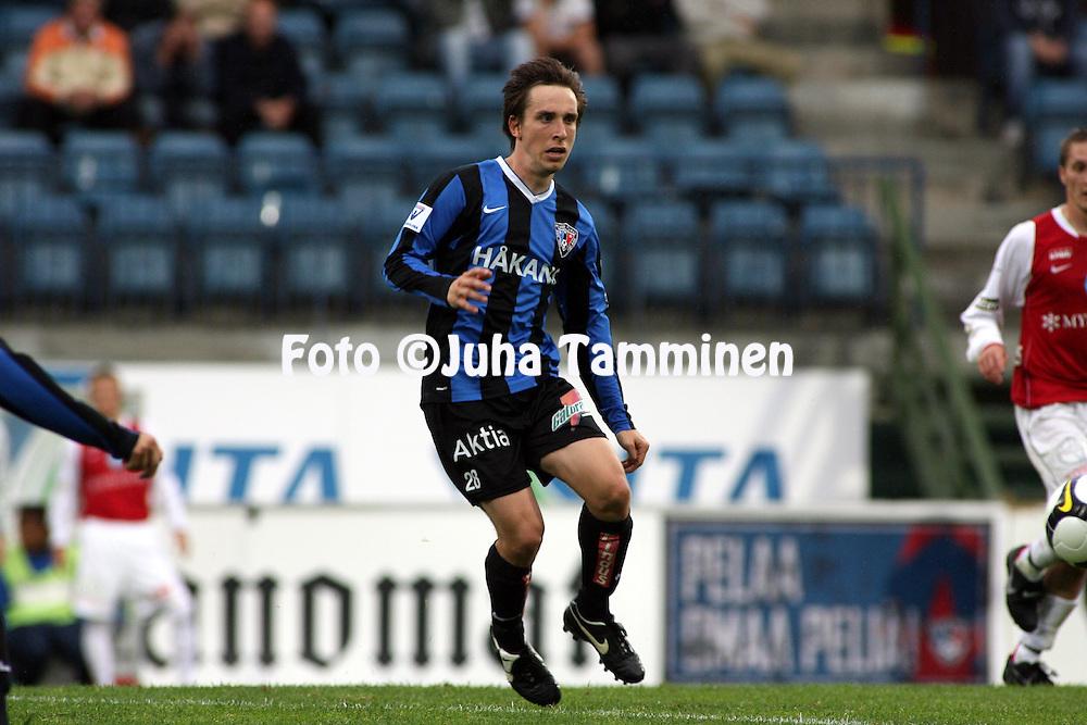 14.07.2008, Veritas stadion, Turku, Finland..Veikkausliiga 2008 - Finnish League 2008.FC Inter Turku - Myllykosken Pallo-47.Mika M?kitalo - Inter.©Juha Tamminen.....ARK:k