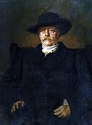 Otto von Bismarck . Painting by Franz von Lenbach (1836-1904), 1884