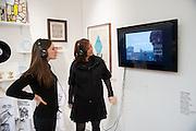 KELLY WOJTKO; ANITA ZABLUDOWICZ, Art13 London First night, Olympia Grand Hall, London. 28 February 2013