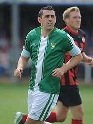 Paul Edgeworth, Aylesbury, Kettering Town v Aylesbury Utd, Southern League, Burton Park, Kettering, 9th August 2014