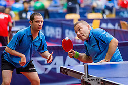 (Team FRA) BOUVAIS Thomas and LEDOUX Marc Philippe in action during 15th Slovenia Open - Thermana Lasko 2018 Table Tennis for the Disabled, on May 11, 2018 in Dvorana Tri Lilije, Lasko, Slovenia. Photo by Ziga Zupan / Sportida