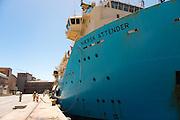 Maersk Attender in Port