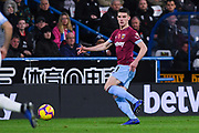 Declan Rice of West Ham United (41) in action during the Premier League match between Huddersfield Town and West Ham United at the John Smiths Stadium, Huddersfield, England on 10 November 2018.