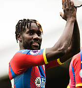 Crystal Palace (27) Pape Souare during the Premier League match between Fulham and Crystal Palace at Craven Cottage, London, England on 11 August 2018.