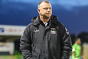 Coventry City Manager Mark Robins during the Leasing.com EFL Trophy match between Forest Green Rovers and Coventry City at the New Lawn, Forest Green, United Kingdom on 8 October 2019.
