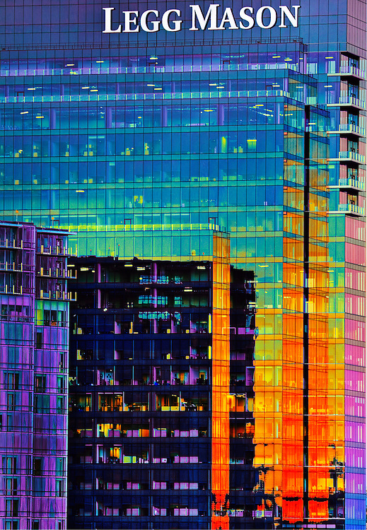 Legg Mason Building at sunset