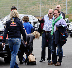 14.05.2011, Red Bull Ring, Spielberg, AUT, RED BULL RING, SPIELBERG, EROEFFNUNG, im Bild Adrian Newey, (Red Bull Racing), Christian Horner, (Red Bull Racing) // during the official Opening for the Red Bull Circuit in Spielberg, Austria, 2011/05/14, EXPA Pictures © 2011, PhotoCredit: EXPA/ S. Zangrando