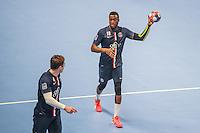 Luc Abalo - 22.04.2015 - PSG / Creteil - 21eme journee de D1<br /> Photo : Andre Ferreira / Icon Sport