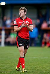 Michael Allen of Edinburgh Rugby - Mandatory by-line: Matt McNulty/JMP - 19 August 2016 - RUGBY - Heywood Road Stadium - Manchester, England - Sale Sharks v Edinburgh Rugby - Pre-Season Friendly