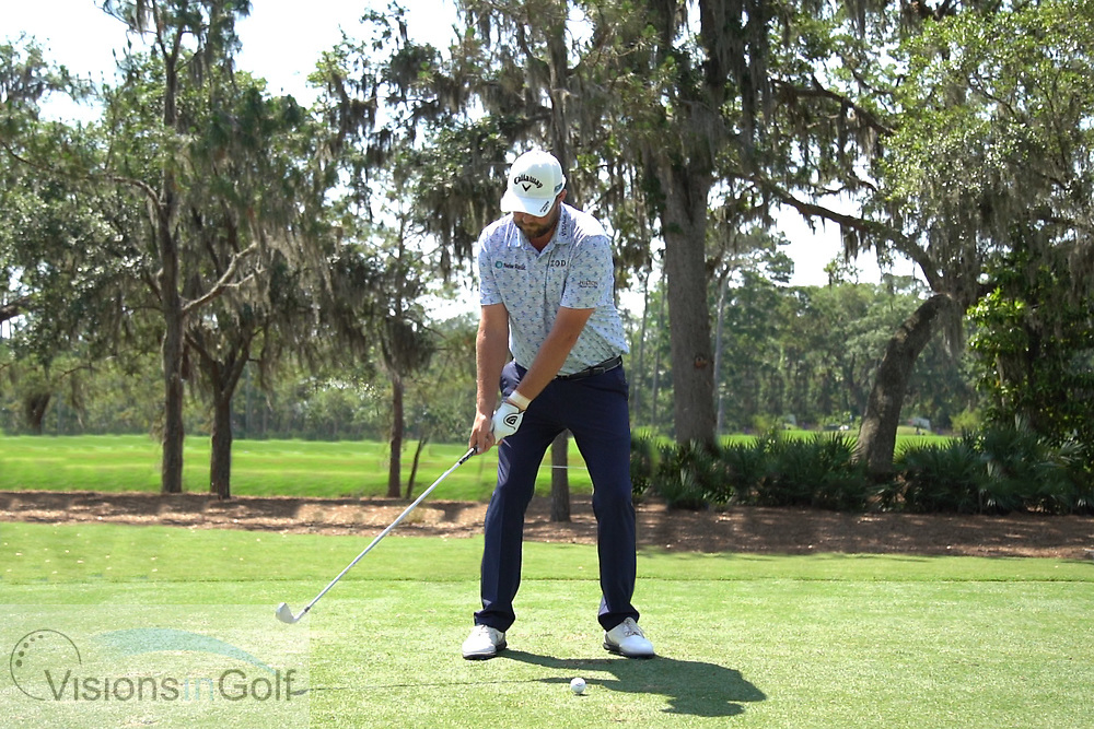 Marc Leishman<br /> Face on swing sequence<br /> 2018<br /> <br /> Golf Pictures by Mark Newcombe/visionsingolf.com