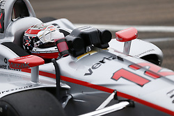 March 10, 2018 - St. Petersburg, Florida, United States of America - March 10, 2018 - St. Petersburg, Florida, USA: Will Power (12) hangs out on pit road during final practice for the Firestone Grand Prix of St. Petersburg at Streets of St. Petersburg in St. Petersburg, Florida. (Credit Image: © Justin R. Noe Asp Inc/ASP via ZUMA Wire)