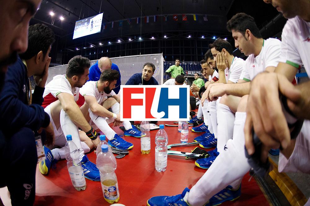 BERLIN - Indoor Hockey World Cup<br /> Men: Iran - Russia<br /> foto: SAFAEI Esfandyar.<br /> WORLDSPORTPICS COPYRIGHT FRANK UIJLENBROEK