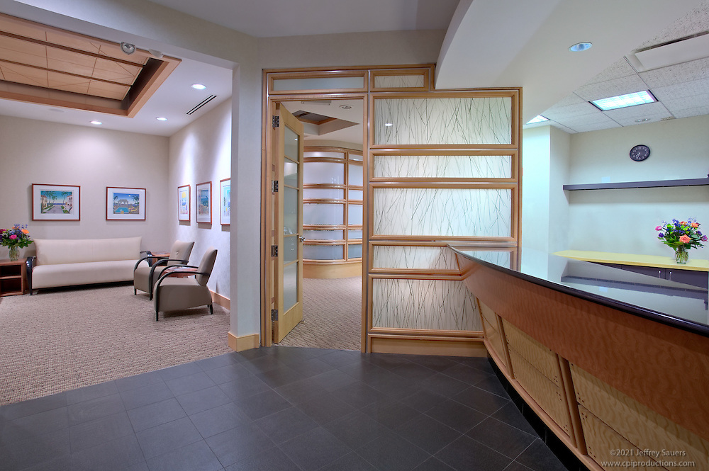 Commercial Interior of medical offices and patient room of Rockville, MD doctor's offices