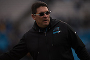 January 17, 2016: Carolina Panthers vs Seattle Seahawks. Panthers Head Coach Ron Rivera