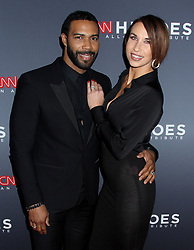 12th Annual CNN Heroes: An All-Star Tribute held at the Museum of Natural History on December 9, 2018 in New York City, NY Steven Bergman/AFF-USA.COM. 09 Dec 2018 Pictured: Omari Hardwick & wife Jennifer Pfautch . Photo credit: Steven Bergman / AFF-USA.COM / MEGA TheMegaAgency.com +1 888 505 6342