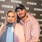 NLD/Amsterdam/20171009 - opening webshop About You, Ruba Zai  en partner ...