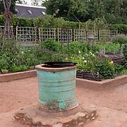 Well in Vegetable Garden