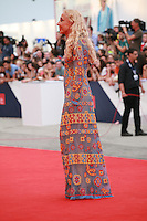Franca Sozzani,  journalist and editor, at the gala screening for the film Everest and opening ceremony at the 72nd Venice Film Festival, Wednesday September 2nd 2015, Venice Lido, Italy.
