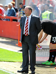 Cheltenham Town manager, Gary Johnson - Mandatory by-line: Neil Brookman/JMP - 25/07/2015 - SPORT - FOOTBALL - Cheltenham Town,England - Whaddon Road - Cheltenham Town v Bristol Rovers - Pre-Season Friendly