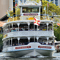 Jungle Queen Riverboat in Fort Lauderdale, Florida<br /> Since 1935, the Jungle Queen Riverboat has delighted tourists with dinner and show cruises or a delightful 90 minutes of sightseeing along the New River. Other options to see Fort Lauderdale&rsquo;s waterways are kayak tours and water taxis.  Plus as you would expect from an area whose nickname is &ldquo;Venice of America&rdquo; you can also experience a ride in a gondola.